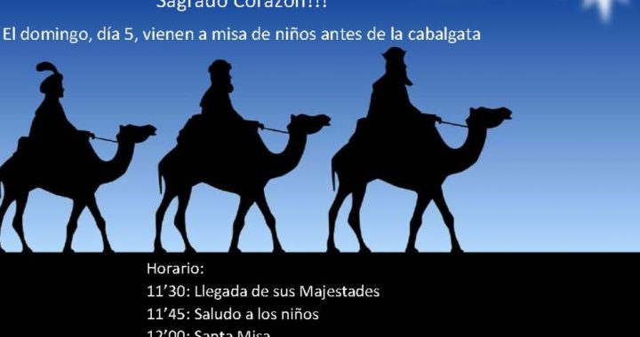Los Reyes Magos vienen a nuestra parroquia